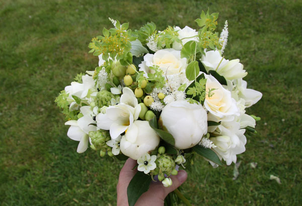 Freesia & Peonie Bouquet