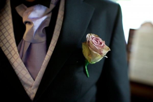 amnesia Rose Buttonhole