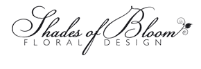 Shades of Bloom Floral Design Logo