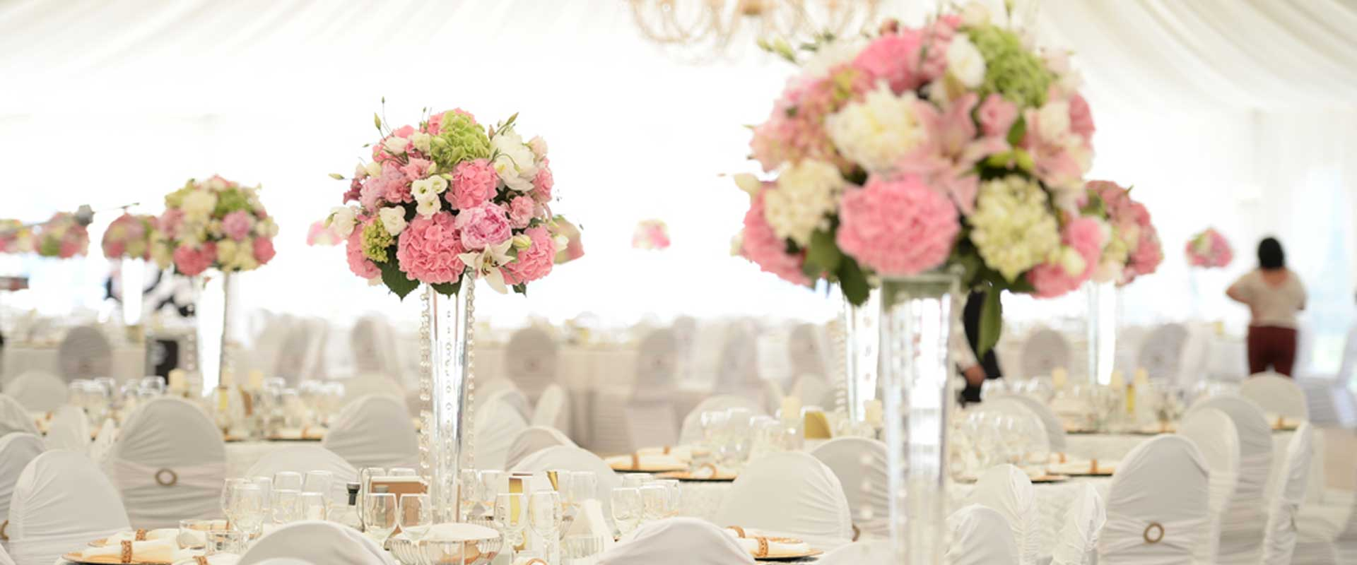Shades of Bloom Wedding Flowers