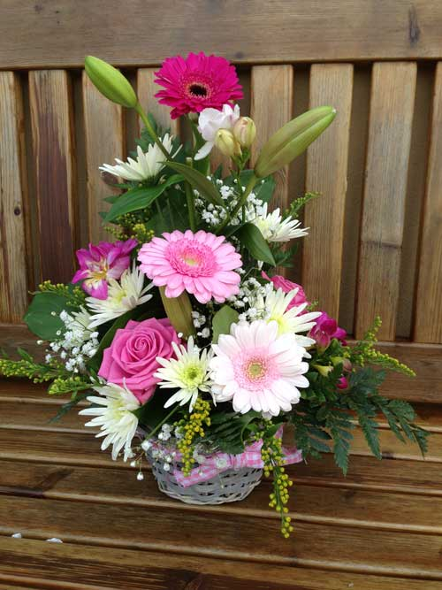 Fresh Flower Basket