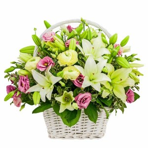 Large Seasonal Basket Arrangement