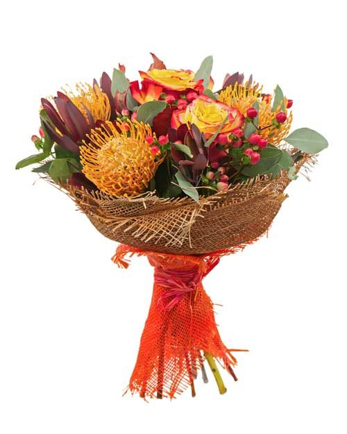 Mixed Orange Bouquet