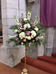 Pedestal arrangment