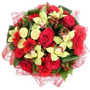 large christmas bouquet