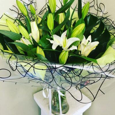 Lily Vase Arrangement