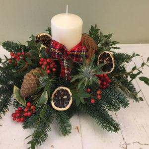 Medium Christmas Centrepiece