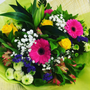 vibrant flower bouquet