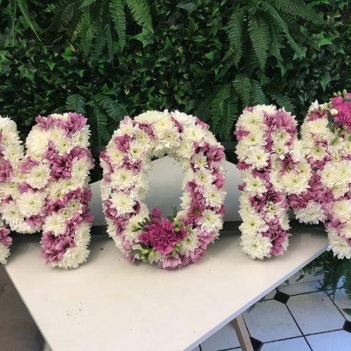 mom funeral flowers