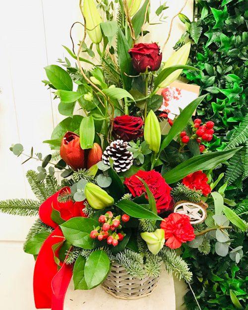 large festive arrangement