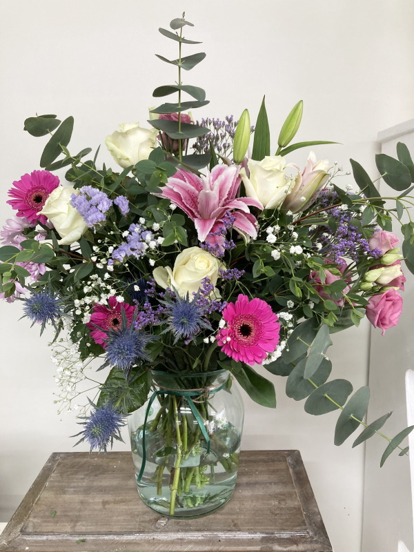 pink charm bouquet