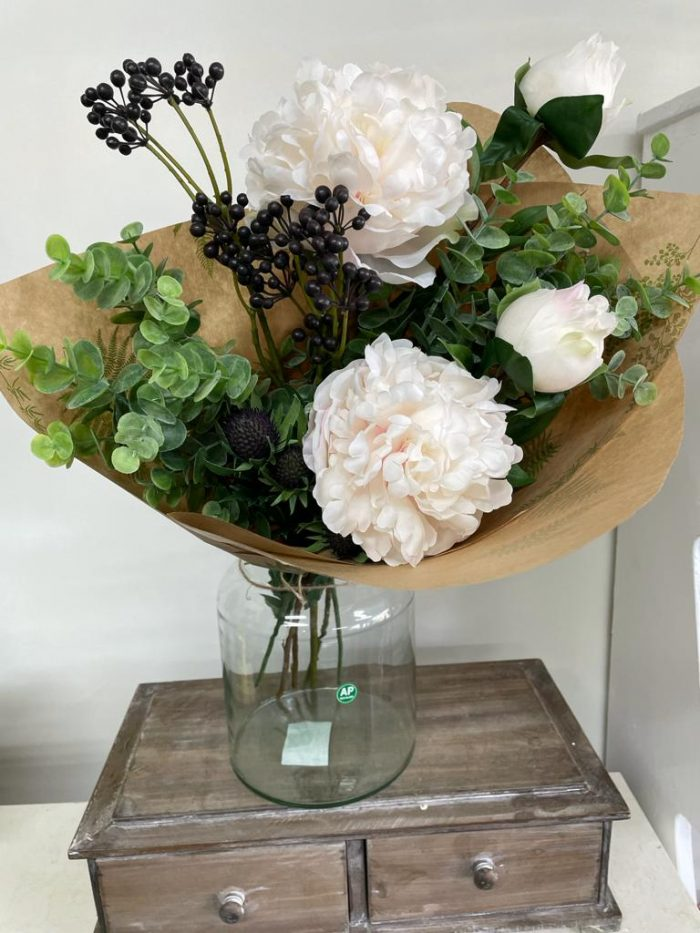 High quality faux flowers with berries