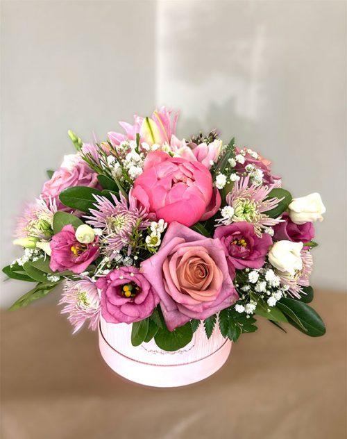 pinky love bouquet