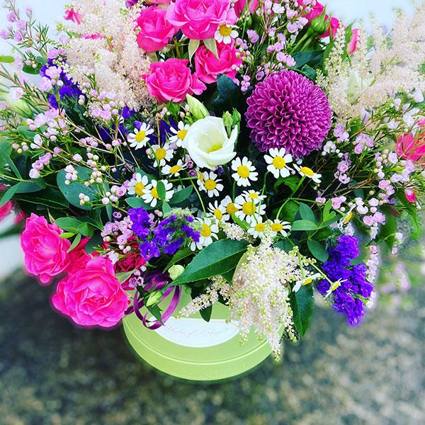wildflower hatbox