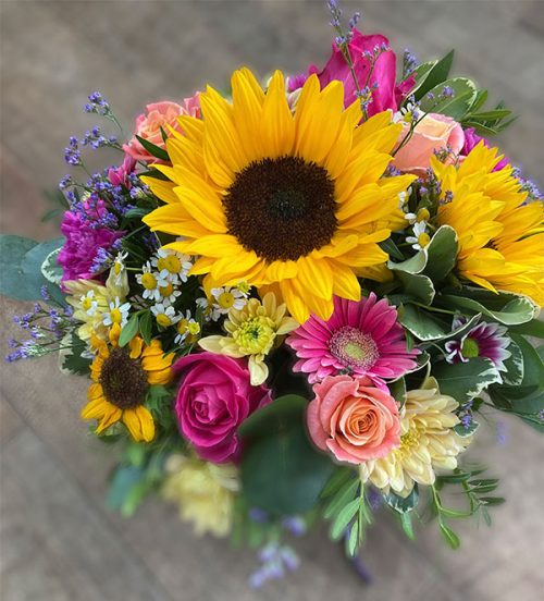 Sunshine Blooms Hatbox