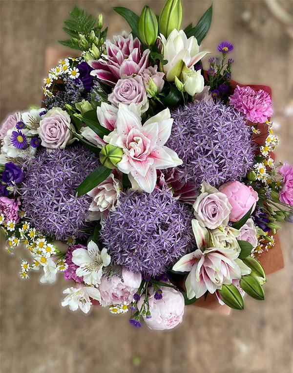 luxury lilac bouquet